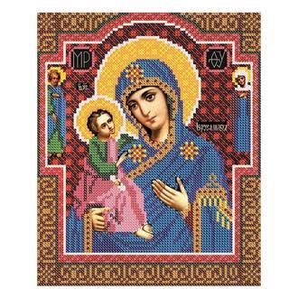 Набор для вышивания бисером Богородица «Иерусалимская» | № 01256