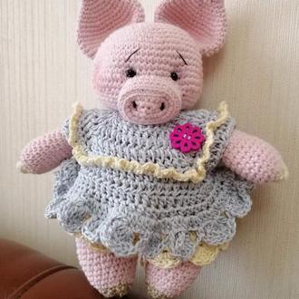 Игрушка свинка Грунечка
