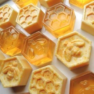 Ароматное натуральное медовое мыло+ медовый набор.