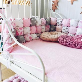 Бортик в кроватку 120х60 см