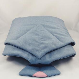 Покрывало одеяло-лист, плед, коврик для игр. Коврик-листик для детской. Коврик на природу.