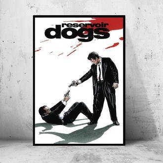 """Постер на ПВХ 3 мм. в рамке """"Reservoir Dogs"""" (Бешеные Псы)"""