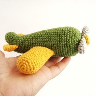 Мягкая игрушка Самолет  Подарок для ребенка