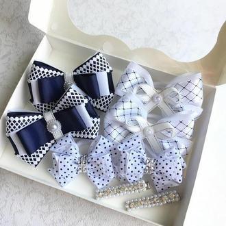 Шкільний набір резиночок для дівчинки