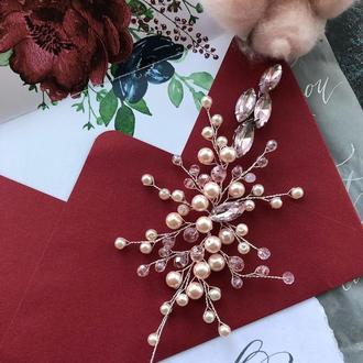 Веточка для волос свадебная веточка
