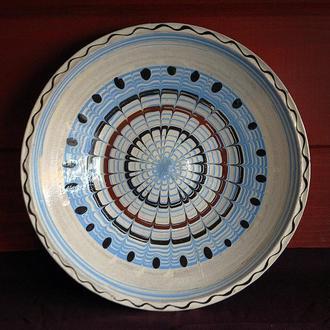 Тарелка большая румынская