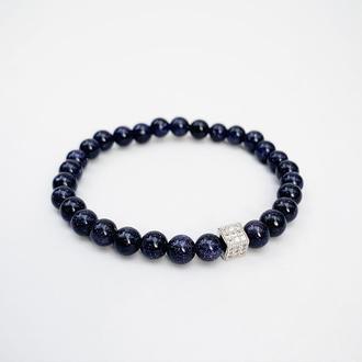 Браслет из авантюрина  (модель № 529) JK jewelry