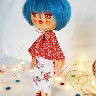 Текстильна колекційна лялька
