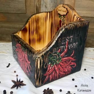 Короб для специй «Кайенский перец»