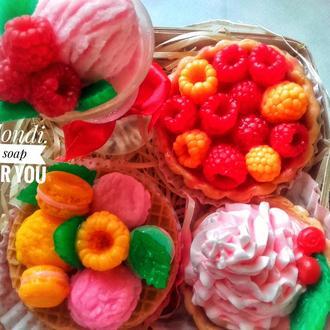 """Набор подарочного мыла """"Сладкие ягоды"""""""