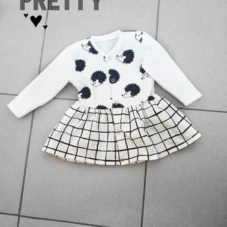Платье детское на 3 месяца