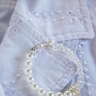 Комплект свадебных украшений. Украшения для невесты. Прикраса для нареченої.