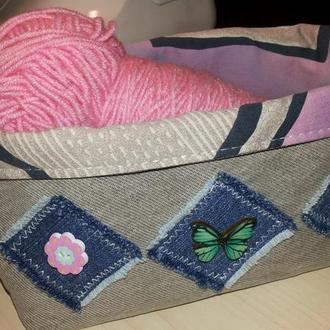 Корзина текстильная (органайзер)