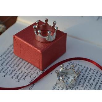 Кольцо в виде короны