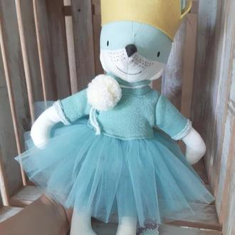 Эко- игрушка Лисичка принцесса