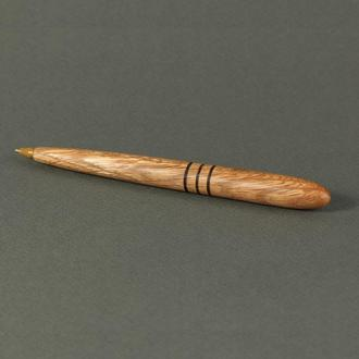 Деревянная авторучка, модель Классик_красный дуб