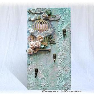 Ключница на стену, оригинальный элемент декора прихожей