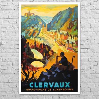Плакат Клерво. Велике Герцогство Люксембург