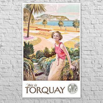 Плакат Торкі GWR