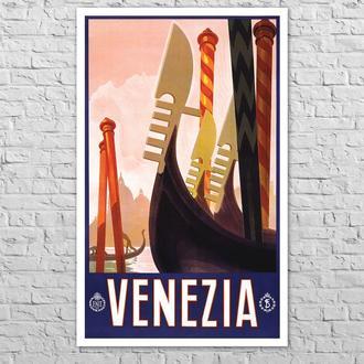 Плакат Венеція