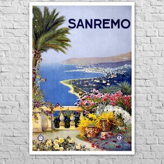 Плакат Сан-ремо