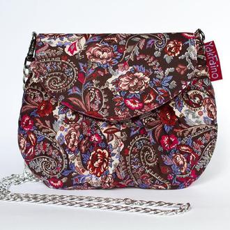 Женская сумочка  Шоколадная