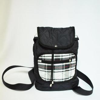 Рюкзак молодёжный тёмно-синий