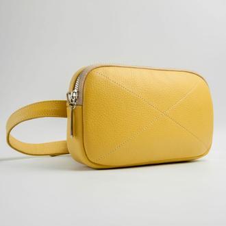 Sandra Waist Bag yellow (артикул: wb021.8)