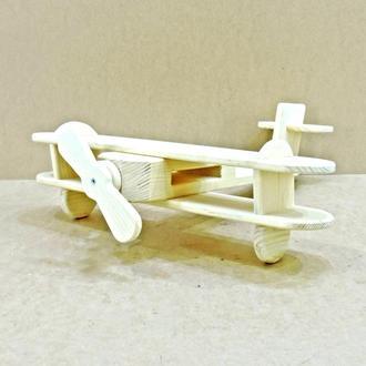 """Детская игрушка """"Самолёт Балу"""" без отделки"""