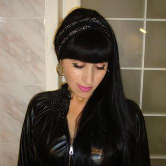 Вязаная повязка на голову чалма - new collection