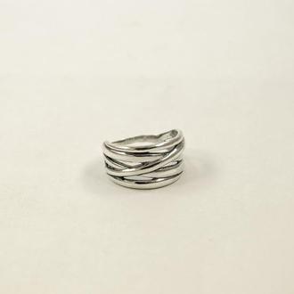 Кольцо с чернением