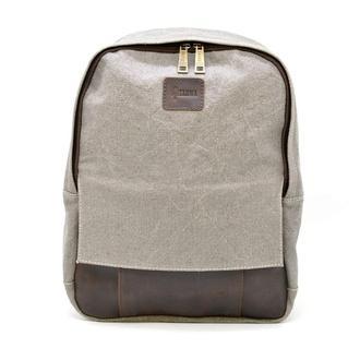 Молодежный рюкзак канвас с кожаными вставками RGj-7224-4lx TARWA