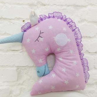 единорог подарки для детей мягкая игрушка для сна подушка обнимашка для девочек
