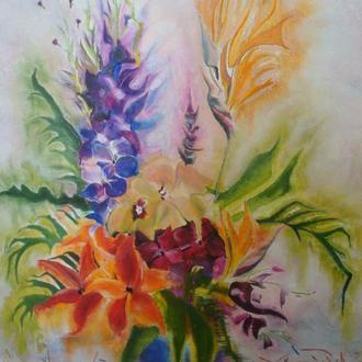 картина Сальса цветов