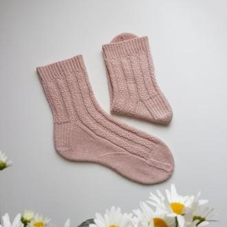 Носки с кашемиром