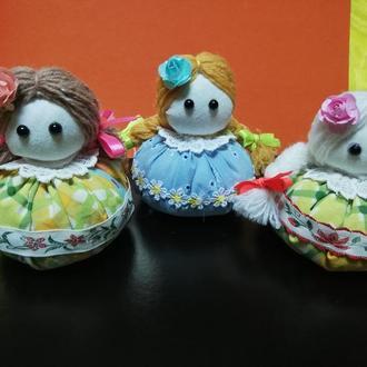 Куклы зерновушки, оберег на сытость и богатство и удачу  в доме.