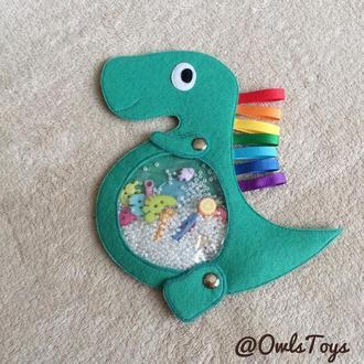 Искалочка из фетра «Динозаврик»