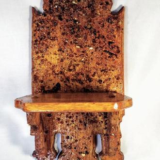 Подставка для вазонов из дерева.