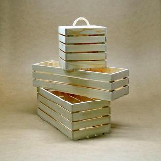 Ящик для хранения Маями В20хД40хШ40см
