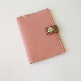 """Обложка для ID паспорта  """"Just Pink"""""""