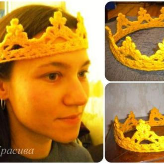 Корона для праздника, фотосессии