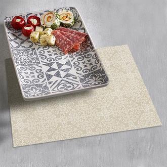 Набор салфеток с акриловым покрытием под тарелки (4 шт)