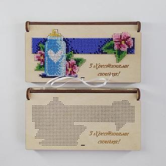 Коробочка - конверт для грошей 002(для вишивки бісером)