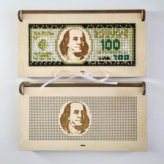 Коробочка - конверт для грошей 009(для вишивки бісером)