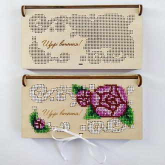 Коробочка - конверт для грошей 016(для вишивки бісером)