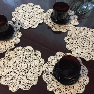 Набор декоративных салфеток (6шт)