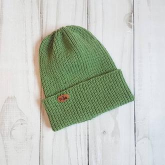Лёгкая шапка на осень