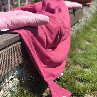 Пляжный коврик. Покрывало, одеяло-лист, плед, коврик для игр. Коврик на природу.