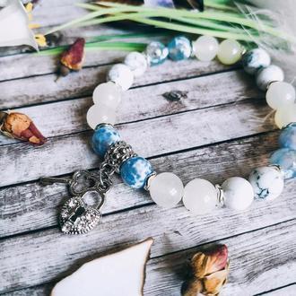Стильный женский браслет «Ключ от сердца»