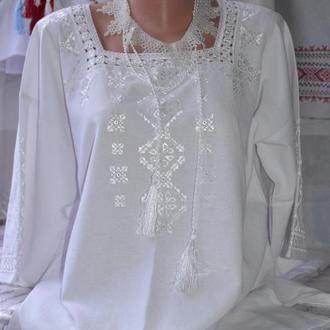 "Женская вышитая блуза ""Ольга"""